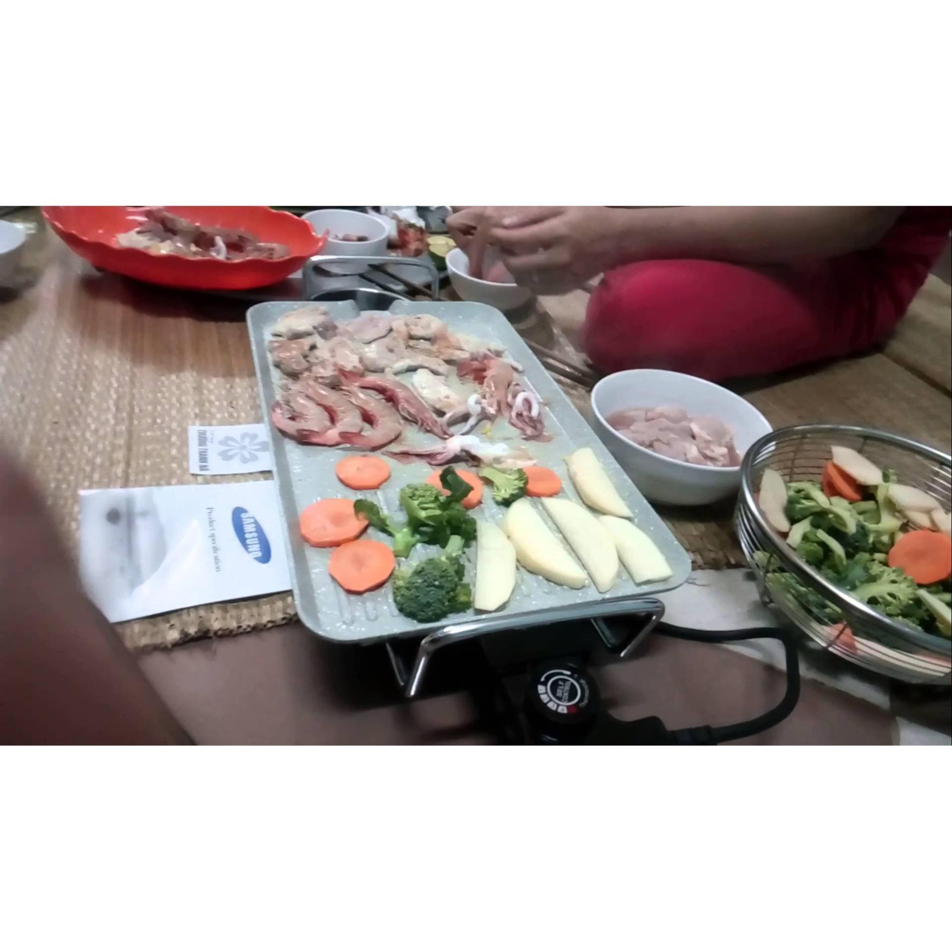 Bếp nướng điện , Bep nuong dien cao cap - Bếp nướng điện SAM SUNG - hàng cao cấp - giá rẻ -  uy tín - chất lượng - BH uy tín 1 đổi 1 bởi Bách Hóa HT