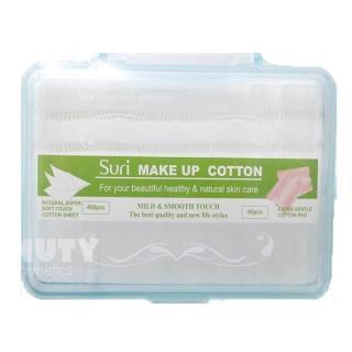 Bông tẩy trang chất mềm chuẩn 460 miếng Suri Make Up Cotton thumbnail