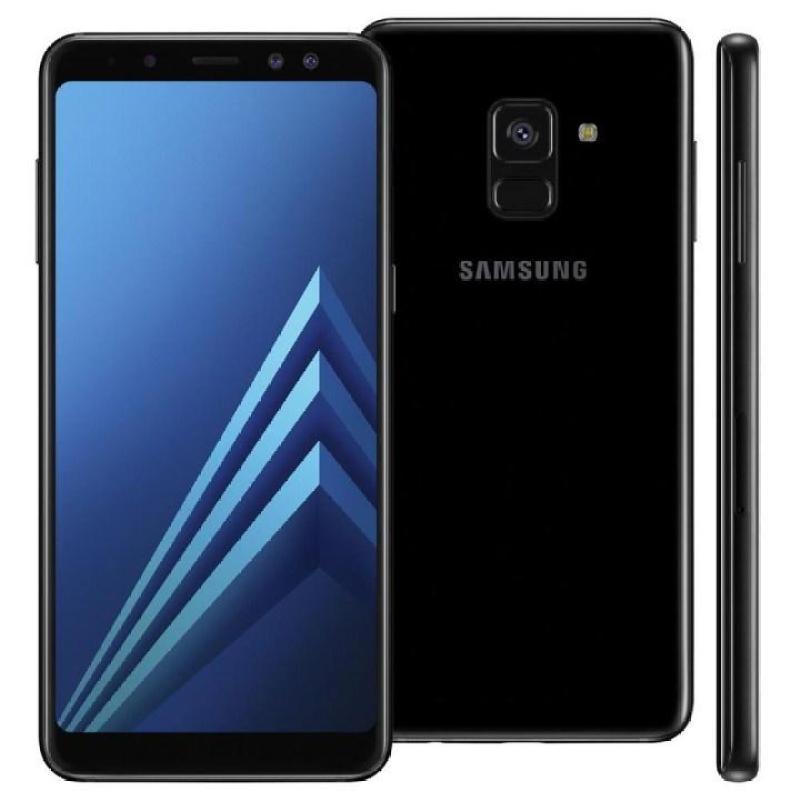Samsung Galaxy A8 plus 2018 64G 2 sim (màu đen) -mới 100 %-Fullbox Bảo Hành 12 Tháng
