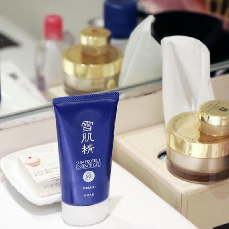 Kem chống nắng Kose Sekkisei Sun Protect Gel SPF50 nhập khẩu