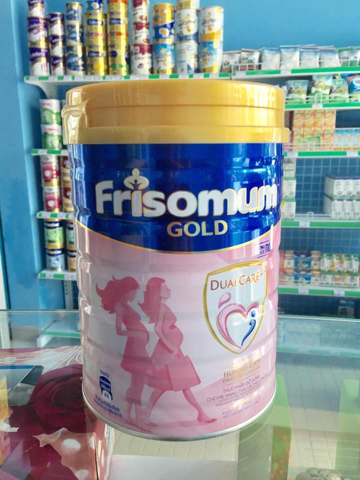 Sữa Frisomum Gold Hương Vanila 900g