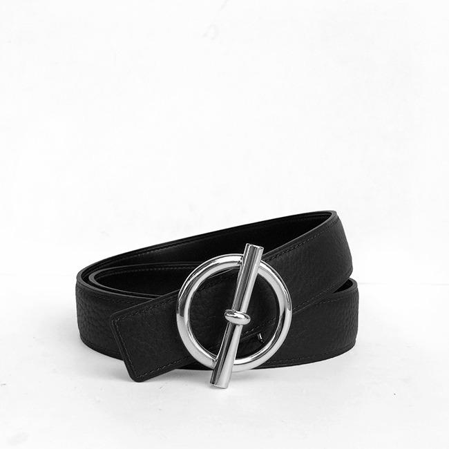Thắt lưng da nam thời trang TLP 01 ( Trắng )