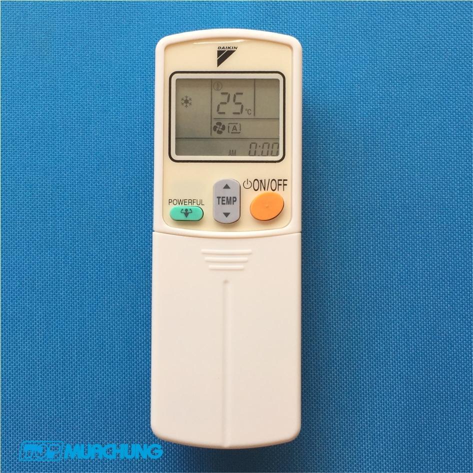 Remote máy lạnh Daikin 1 chiều và 2 chiều cơ (không Inverter)