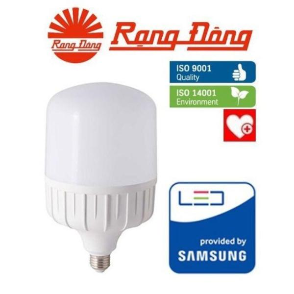 Bóng đèn LED Bulb trụ 40W Rạng Đông TR120N1/40W-SS