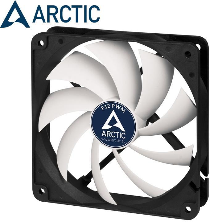 Hình ảnh Fan case 12cm Arctic F12 PWM - Quay êm, sức gió lớn, giảm nhiệt mạnh mẽ