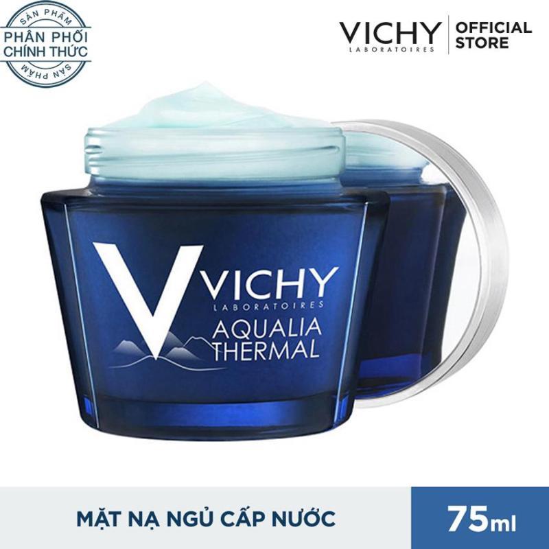 Mặt nạ ngủ phục hồi chuyên sâu Vichy Aqualia Thermal Night Spa 75ml