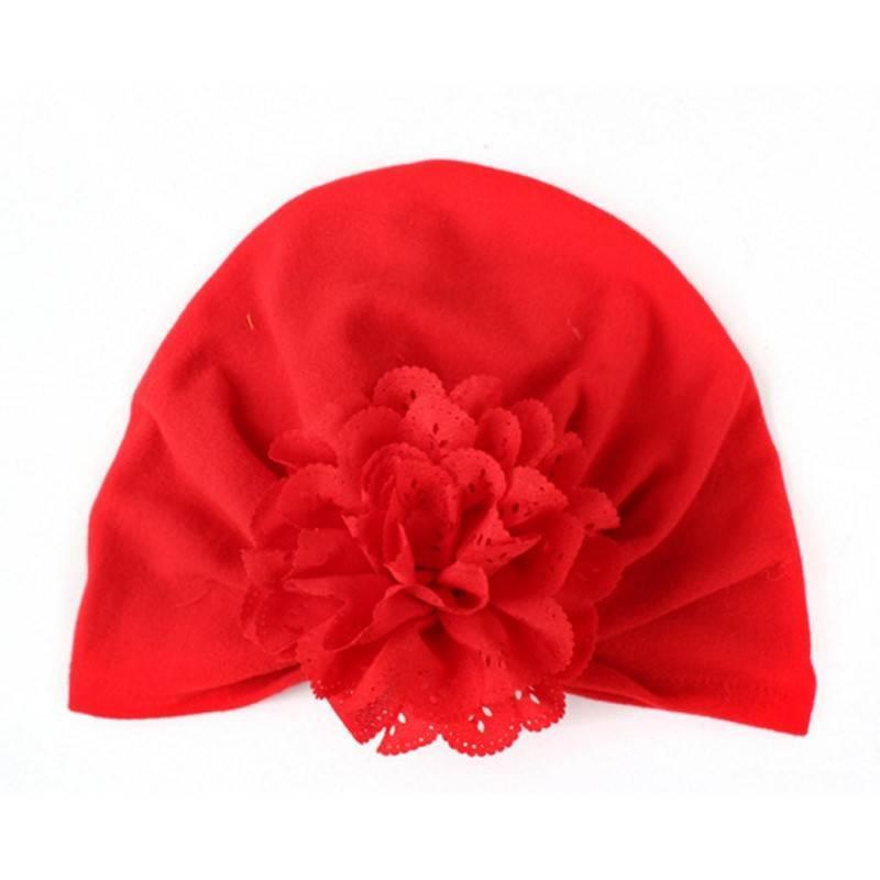 Giá bán Mũ Turban Hoa, turban thời trang Cho Bé Gái