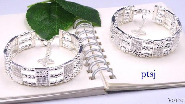 vòng tay bạc nữ