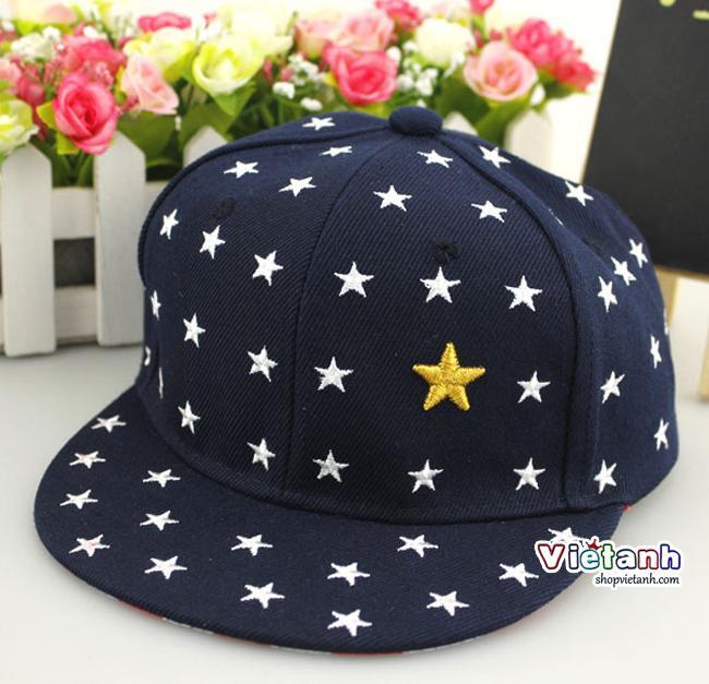 Mũ nón hè trẻ em Hiphop cho bé trai Sao sành điệu MH51