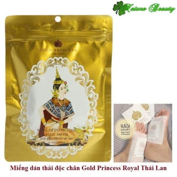 Miếng dán thải độc chân Gold Princess Royal nhập khẩu