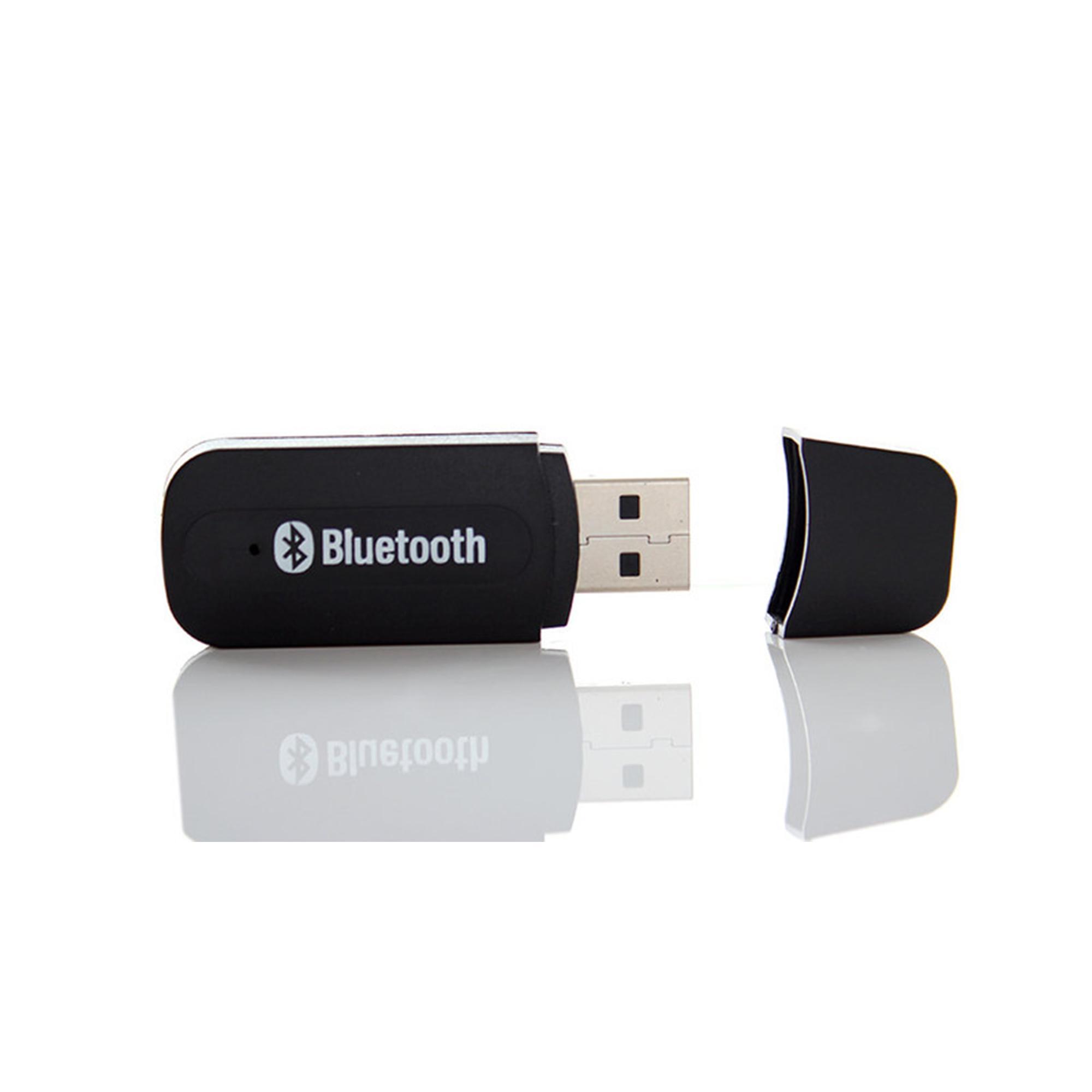 Hình ảnh USB bluetooth BT-163 biến loa thường thành loa Bluetooth (Màu Đen)