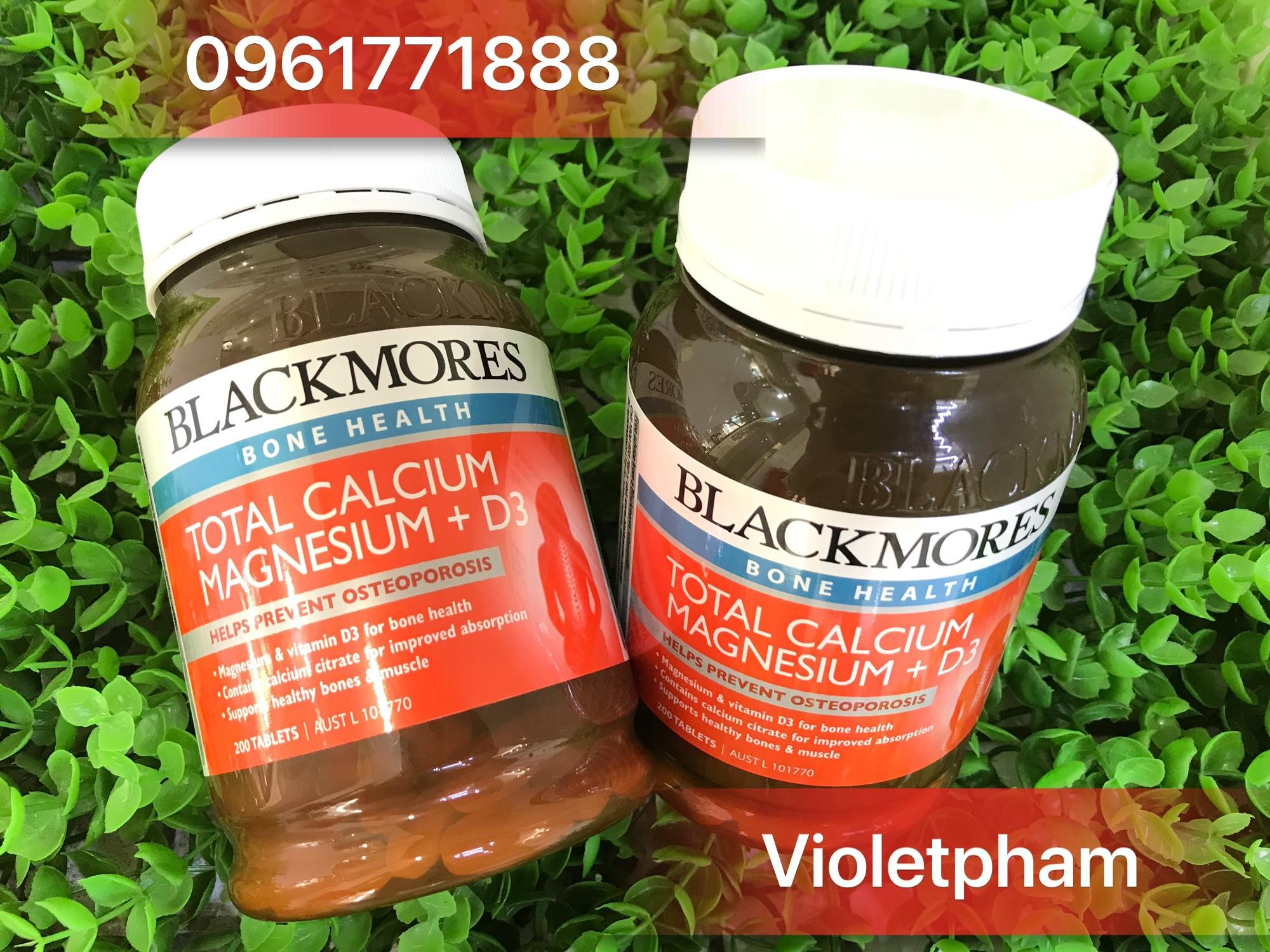 Thuc Calcium D3 Blackmores Total Magnesium 200 Tablet Vin
