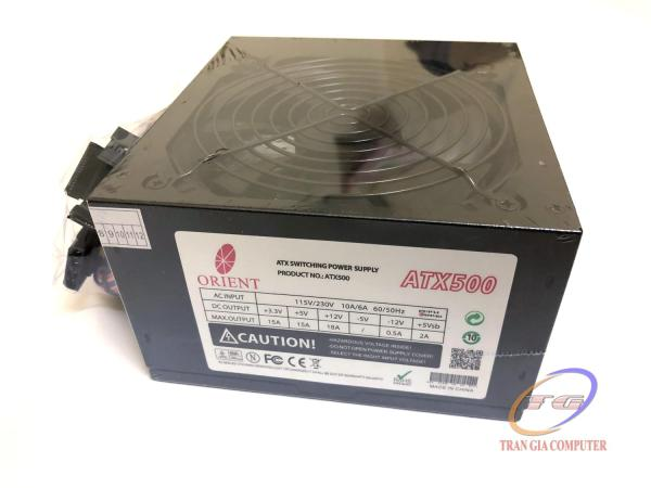 Giá Bộ nguồn máy tính PSU Orien ATX500 500W - đen