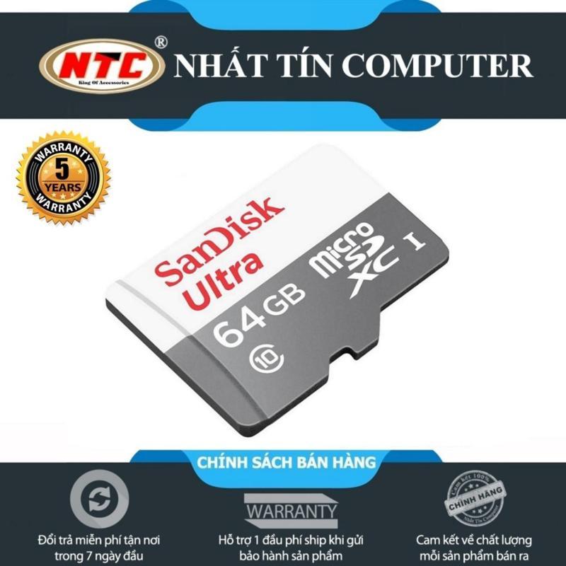 Thẻ Nhớ MicroSDXC SanDisk Ultra 64GB 80MB/s (New)