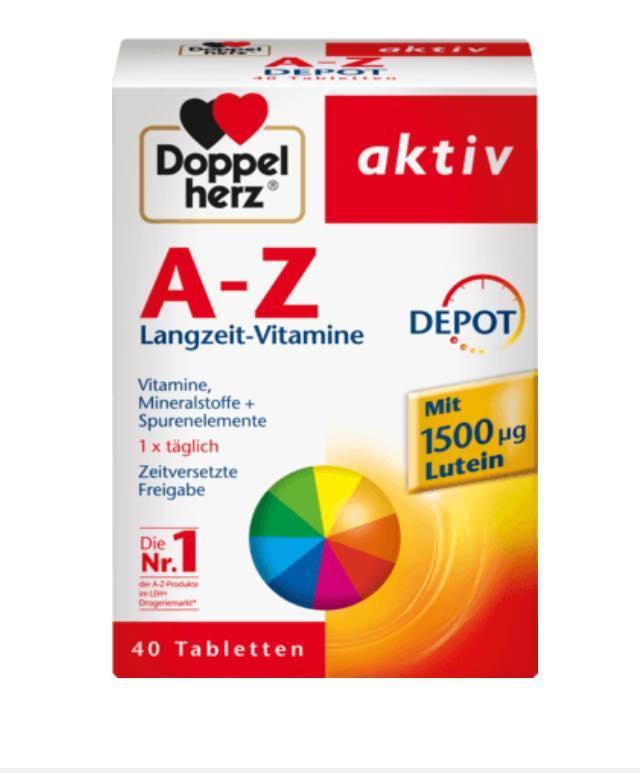 Vitamin Tổng Hợp Từ A-Z Cho Người Trên 12Y- Xách Tay Đức