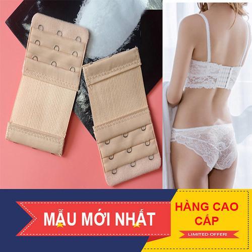 Giá bán Combo 6 miếng nối dây áo ngực loại 2 móc và 3 móc. Mẫu mới