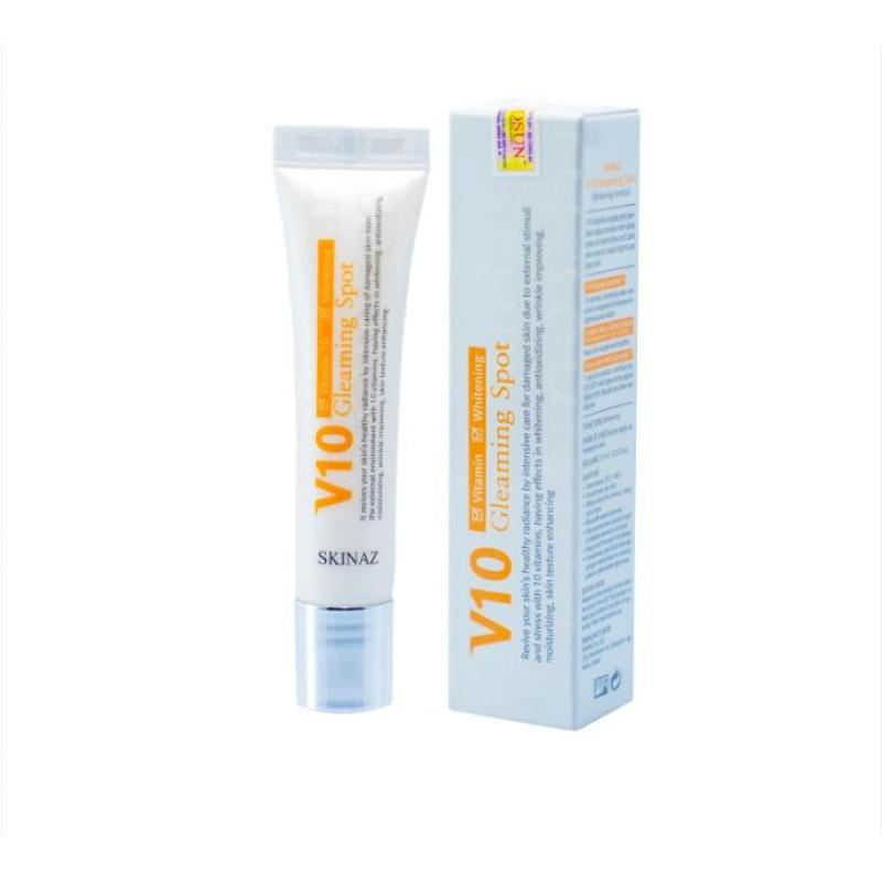 Serum Cao Cấp V10 Gleaming Spot Skinaz Hàn Quốc nhập khẩu