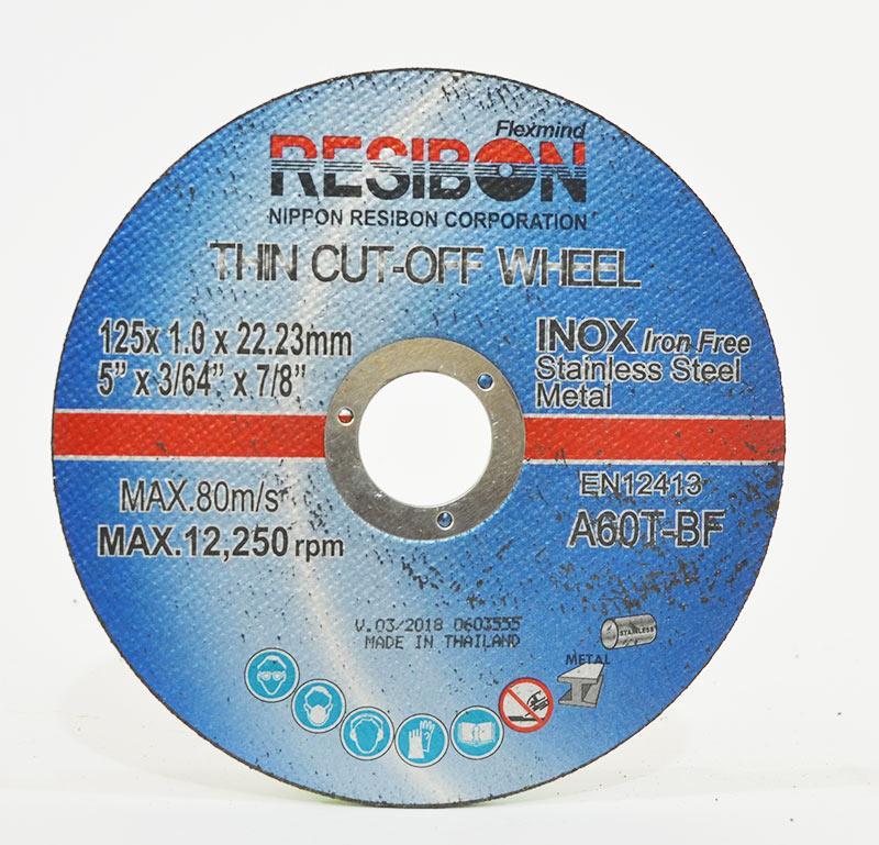 Bộ 10 viên Đá cắt Resibon 125x1.0x22.23