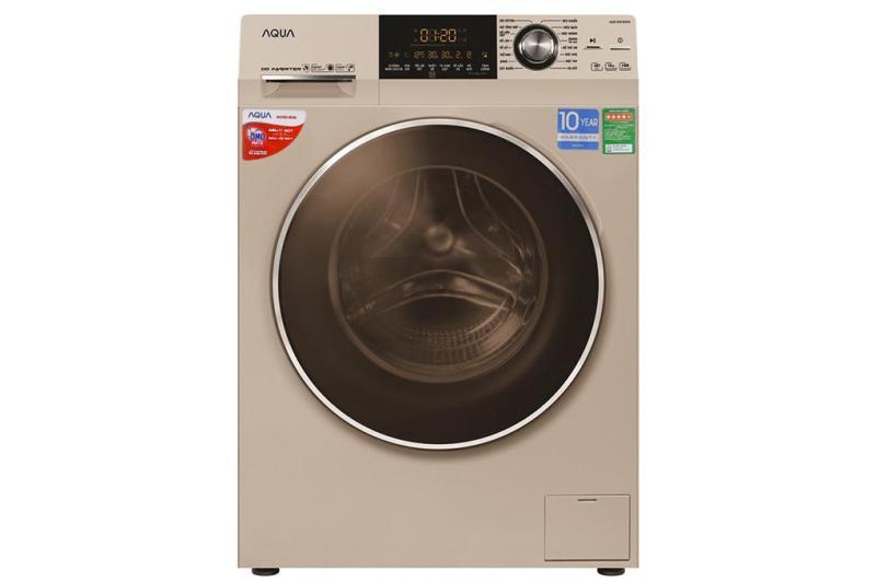 Bảng giá Máy giặt Aqua cửa ngang AQD-D1000C.N2 10 kg màu vàng kim Điện máy Pico
