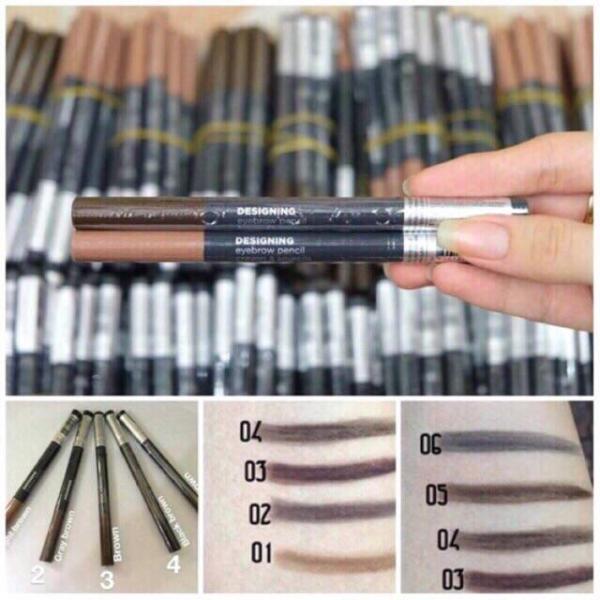 Chì kẻ mày 2 đầu The Face Shop Designing Eyebrow Pencil giá rẻ