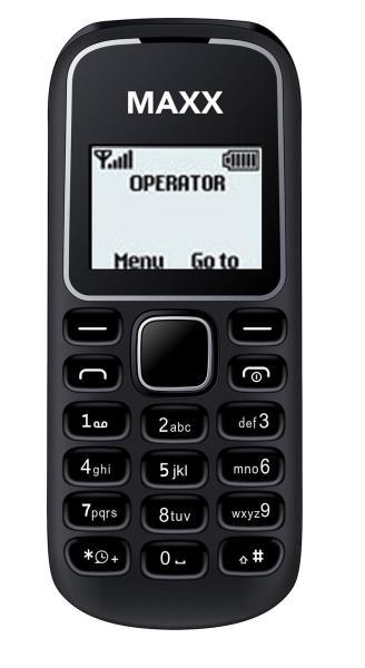 ĐTDĐ MAXX N1280 - Bảo hành 12 tháng - Đen