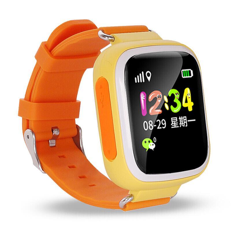 Đồng hồ thông minh có định vị GPS V80-4, phiên bản Định vị Wifi, Cảnh báo chống mất trộm.