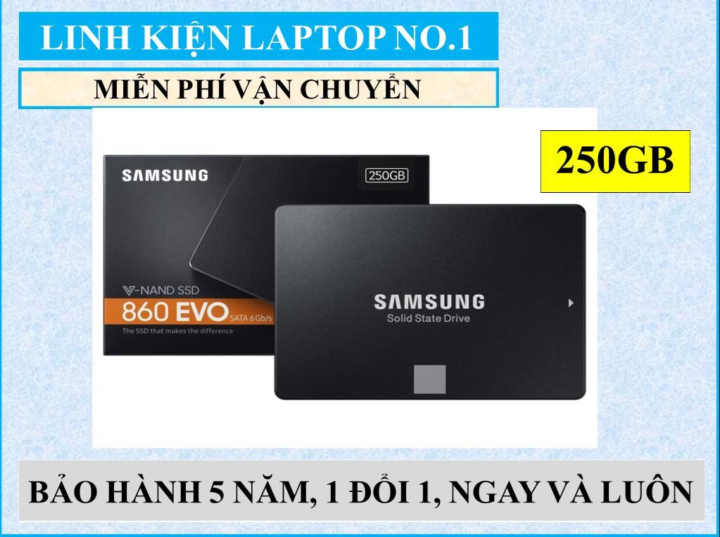 Hình ảnh Ổ cứng SSD Samsung 860evo 250GB SATA III - BẢO HÀNH 5 NĂM