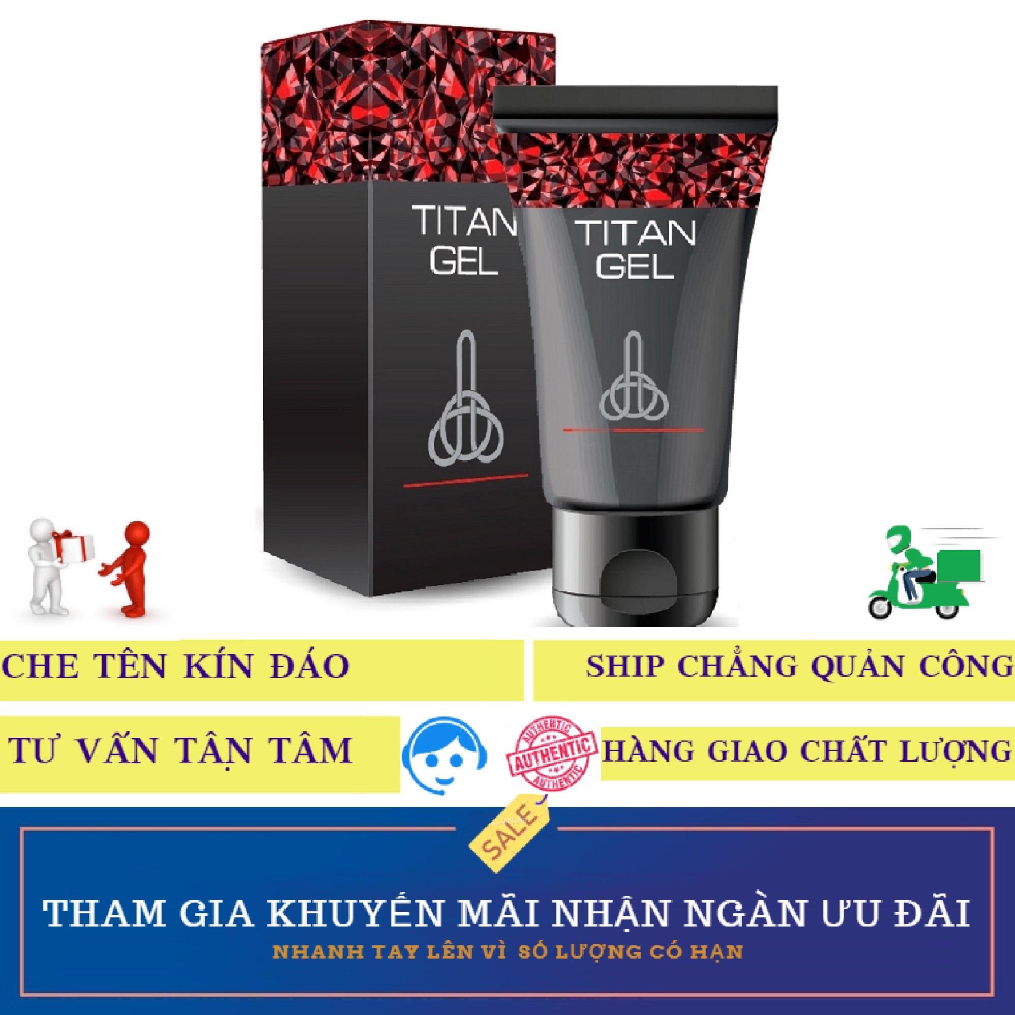 1 hộp gel Sản phẩm Titan-Nga cao cấp (50ml)