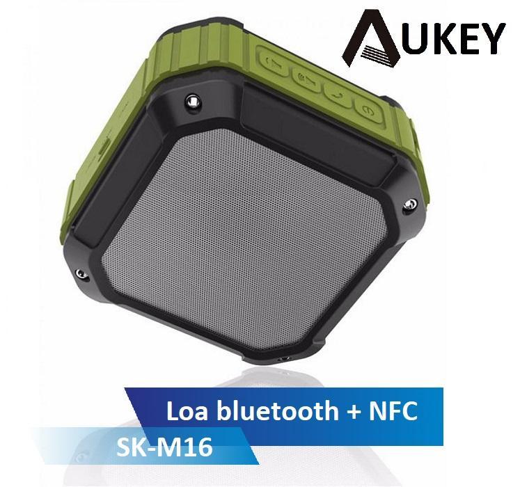 Loa Bluetooth Aukey SK-M16, Chống nước theo chuẩn IPX4