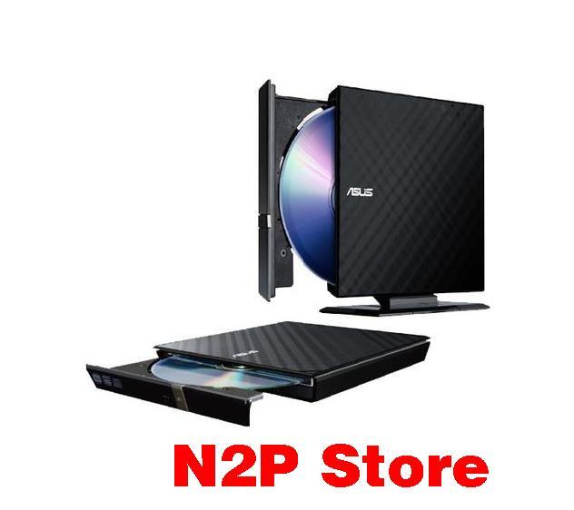 Giá Đầu ghi đĩa gắn ngoài di động ASUS DVD SDRW 08D2S-U Slim mỏng