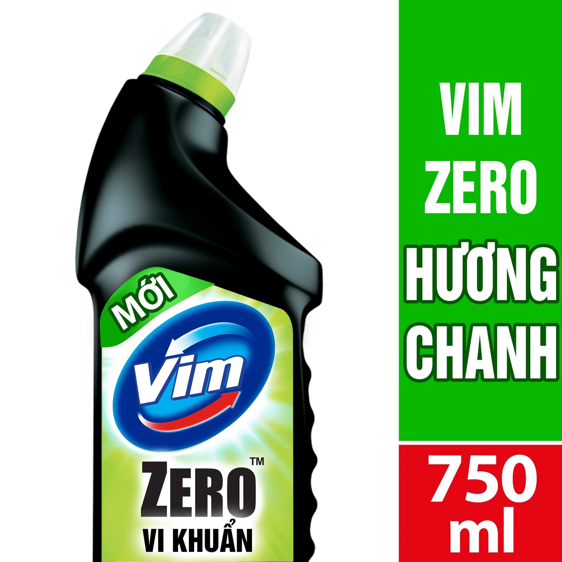 ChẤt TẨy RỬa BỒn CẦu Vim Zero ThƠm MÁt 750ml HƯƠng Chanh By Lazada Retail Unilever.