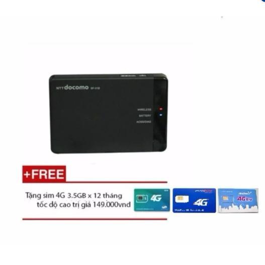 Ôn Tập Trên Bộ Phat Song Wifi Từ Sim 3G 4G Docomo Bf 01 Mau Đen Kem Sim 4G Vinaphone 120Gb Thang