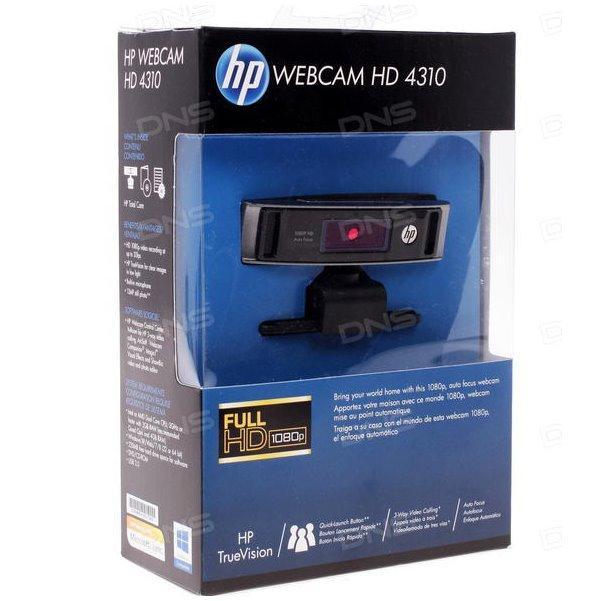 Hình ảnh Webcam Livestream Full HD 1080P HP 4310 (Màu Đen)