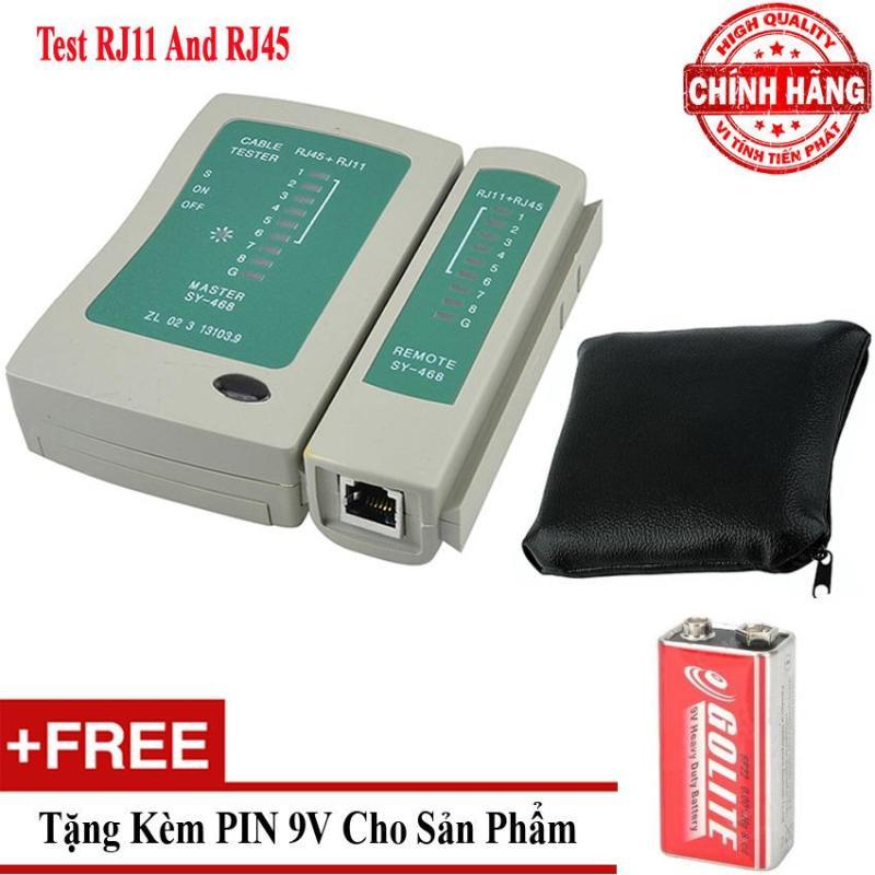 Bảng giá Hộp test dây cáp mạng dây điện thoại đa năng RJ45 và RJ11 - TPTL01 Phong Vũ