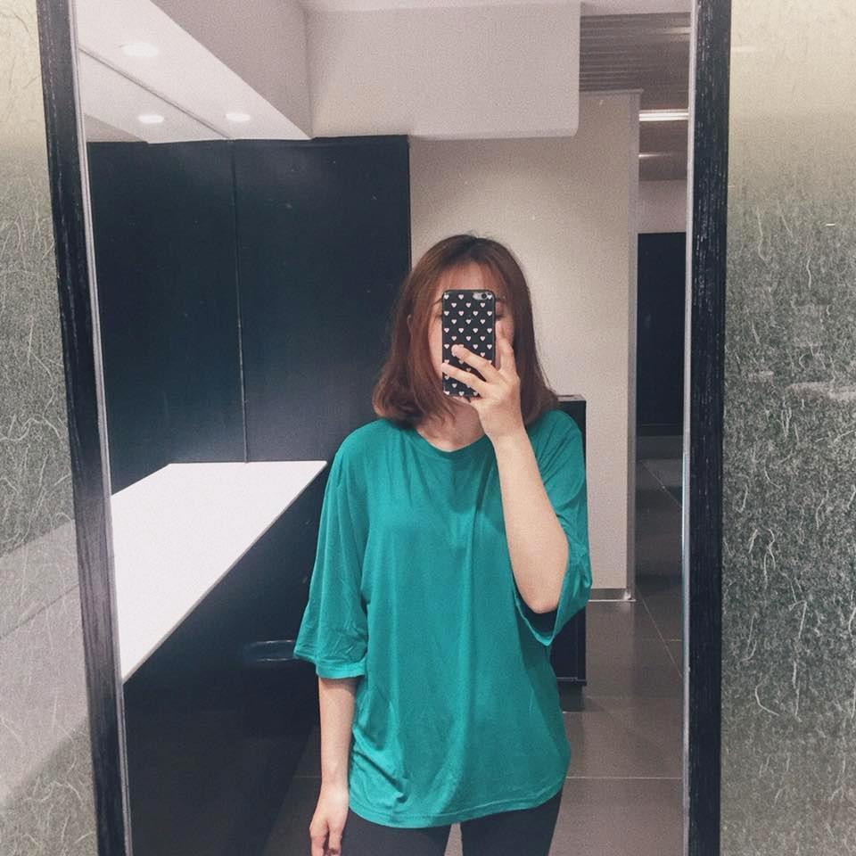 Giá Bán Ao Thun Tay Lỡ Nữ Just P Mau Xanh Lục Mới Rẻ