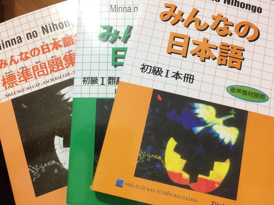 Mua Bộ sách học tiếng Nhật Minna no nihongo I (3 cuốn) Trình độ sơ cấp N5