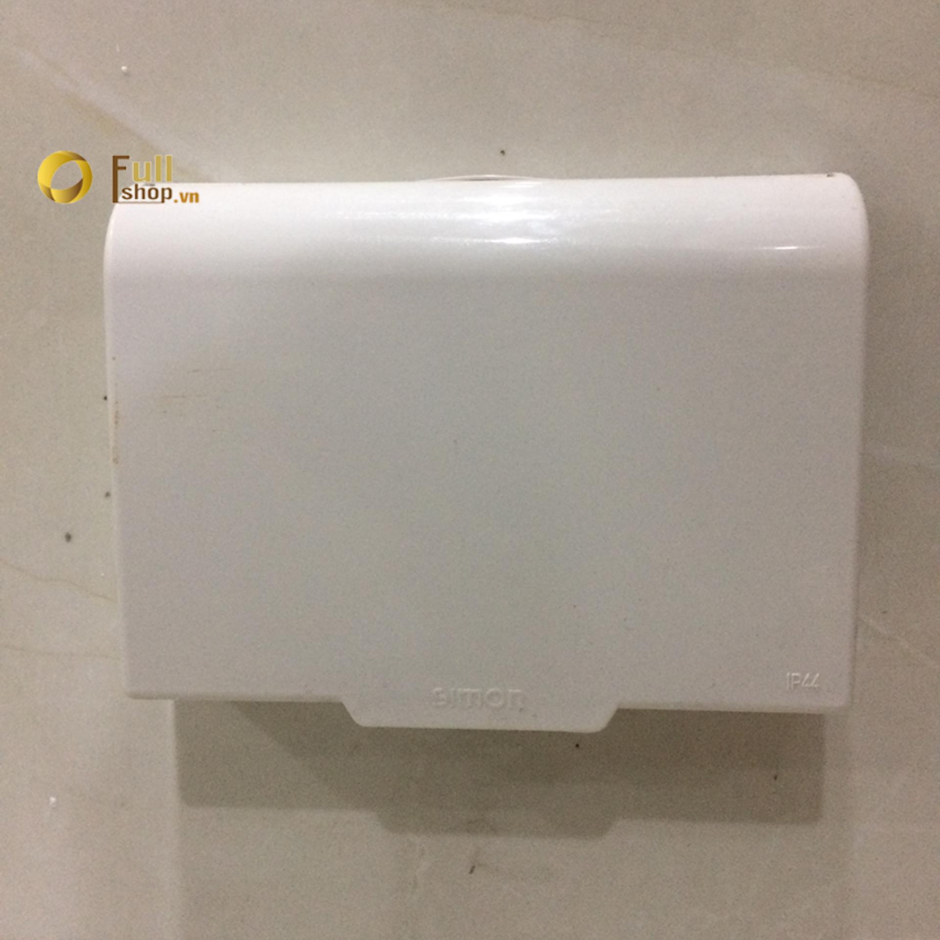 Hình ảnh Mặt che chống nước bảo vệ ổ cắm, công tắc chữ nhật điện Simon 52154