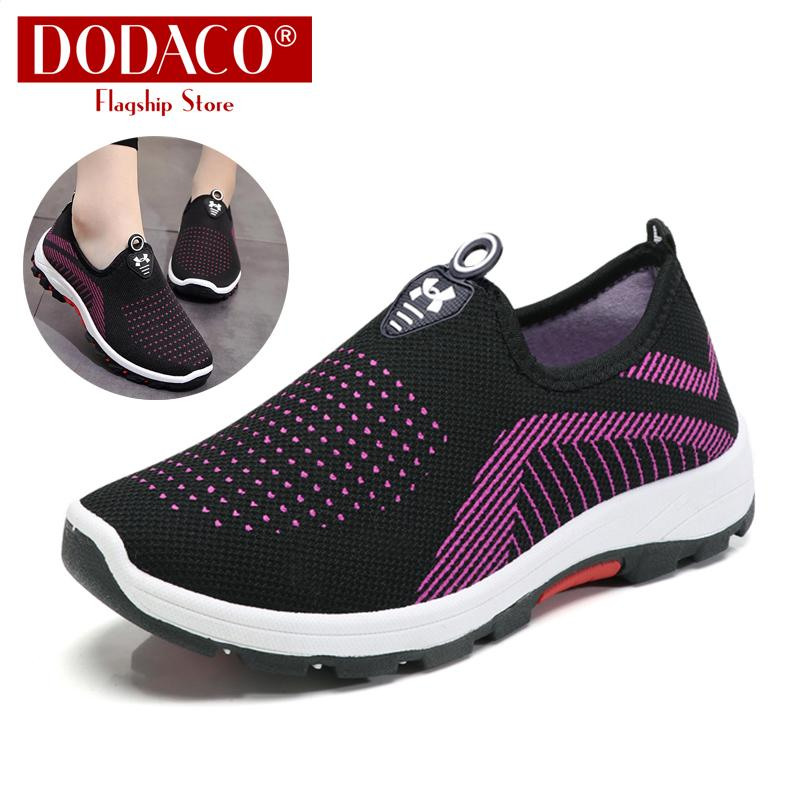 Giảm Giá Quá Đã Phải Mua Ngay Giày Lười Nữ Giày Mọi Nữ Slip On DODACO DDC2025 A67
