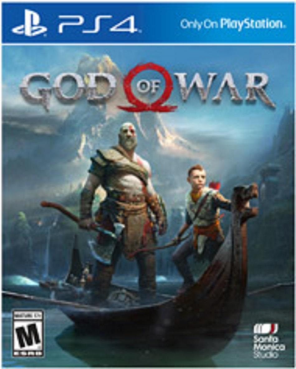 Hình ảnh Game God Of War 4 ps4