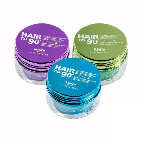 Sáp vuốt Tóc Kanfa Hair To 90 Wax mái tóc mỏng, khó giữ nếp giá rẻ