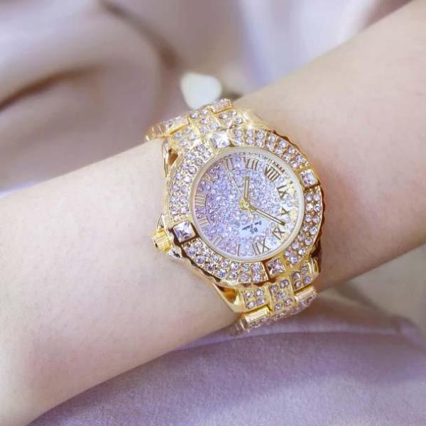 Đồng hồ nữ BS Bee Sister FA08040 đính đá thời trang