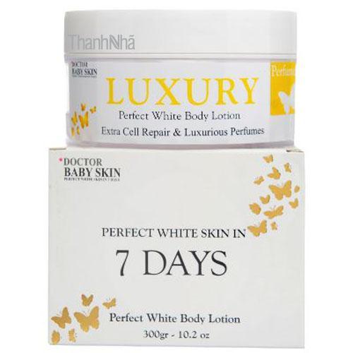Kem dưỡng trắng da ban đêm Doctor Baby Skin SPF40 - 300g nhập khẩu