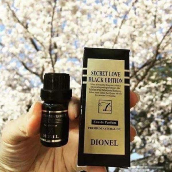 Nước hoa vùng kín Dionel Secret Love Black Edition Korean (5ml) – Hàng nhập khẩu
