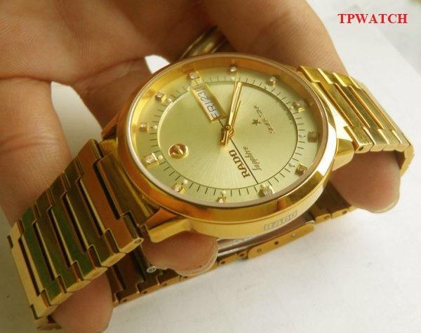 Hình ảnh Đồng hồ Rado Silver Star 22k Gold Plated Automatic JAPAN + Tặng Nhẫn 1 Chỉ Chữ Phúc { TRỢ GIÁ }