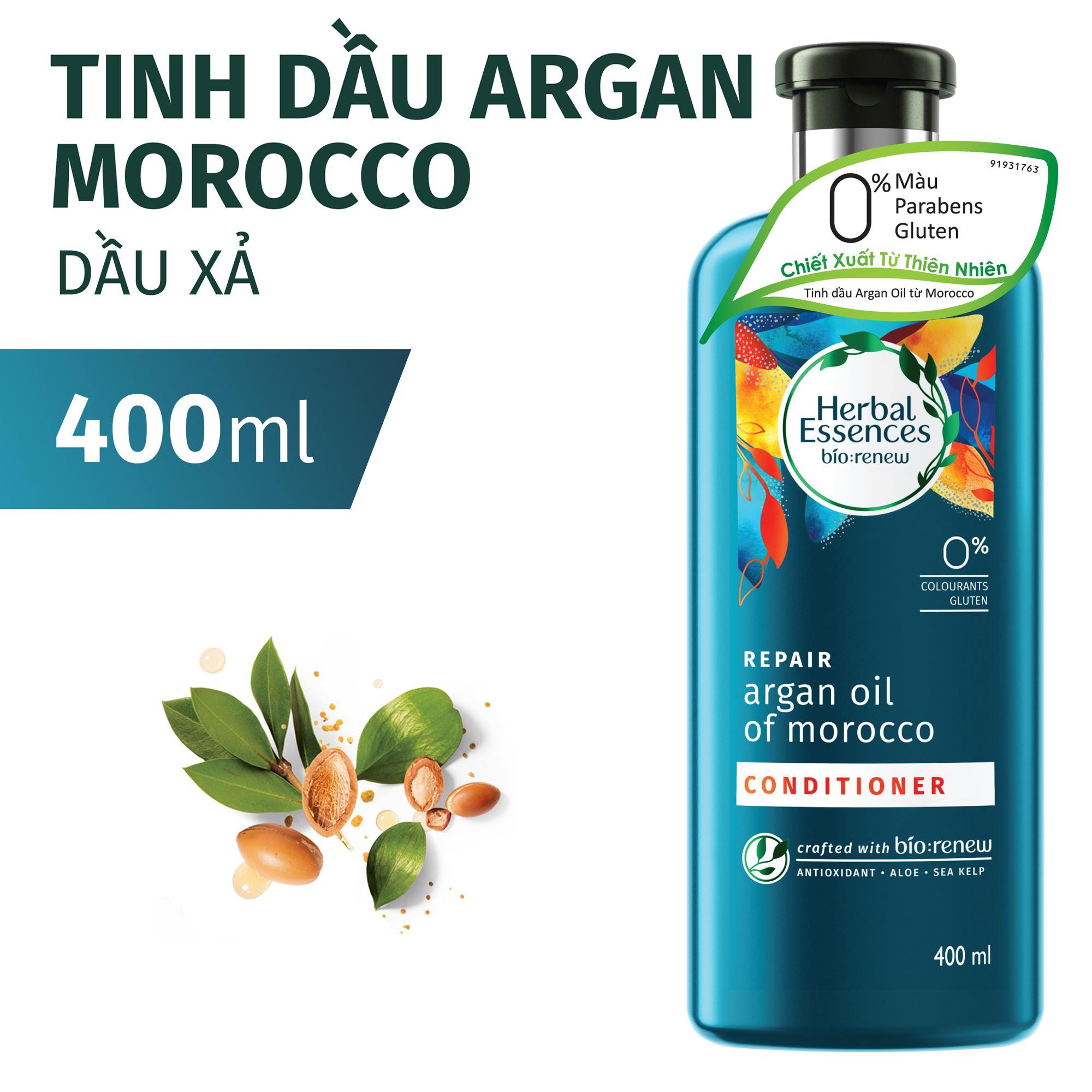 Hình ảnh Dầu Xả Herbal Essences Tinh dầu MoroccanArgan 400ml