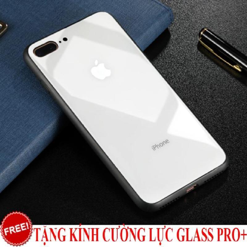 Giá Ốp lưng Iphone 7 Plus / 8 Plus cường lực gương cao cấp + Tặng kính cường lực Glass Pro+