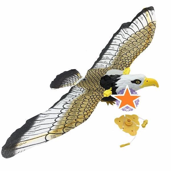 Hình ảnh Đồ chơi mô hình chim đại bàng vỗ cánh có đèn nhạc(pin)