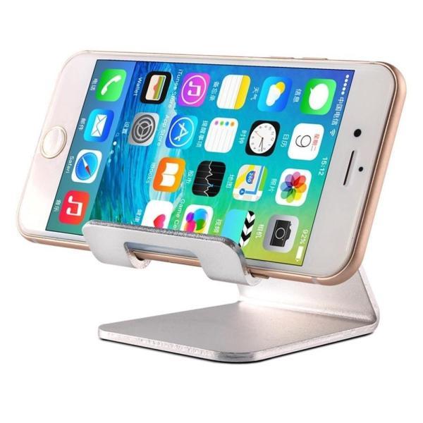 Giá đỡ điện thoại máy tính bảng kiểu đứng giống PC Desktop bằng nhôm