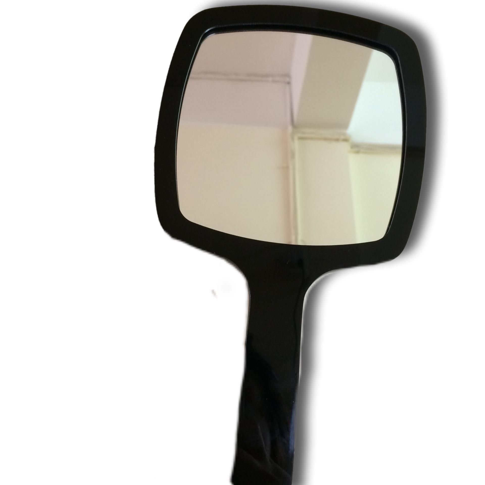 Gương vuông đen cầm tay - Dụng cụ phun xăm tốt nhất