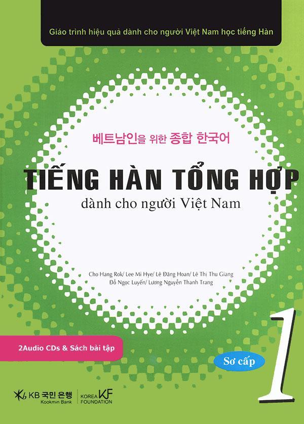 Mua Tiếng Hàn tổng hợp dành cho người Việt Nam - Sơ cấp 1 - Sách bài học